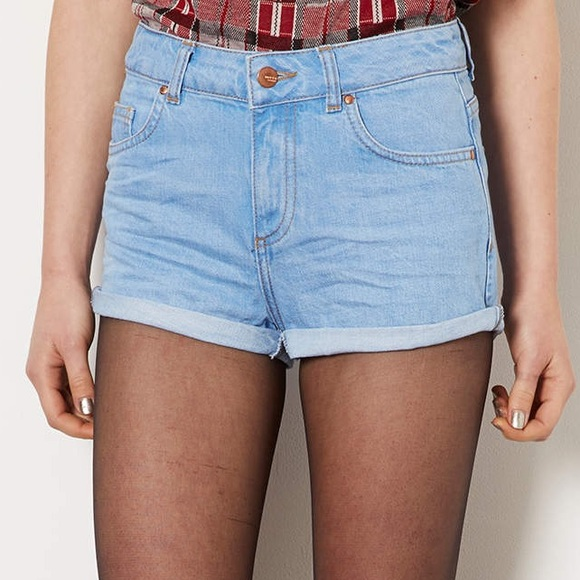 Topshop Pants - TOP SHOP high waisted shorts